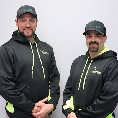 Chris Ruch and Tony Hayden, Owners of Expert Tree Service